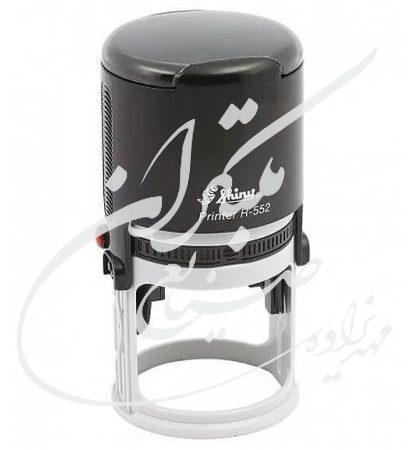 مهر شاینی اتوماتیک دایره کد 008